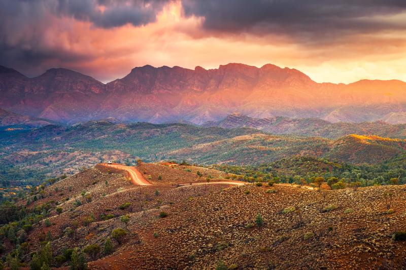 Bunyeroo Valley, Flinders Ranges & Outback