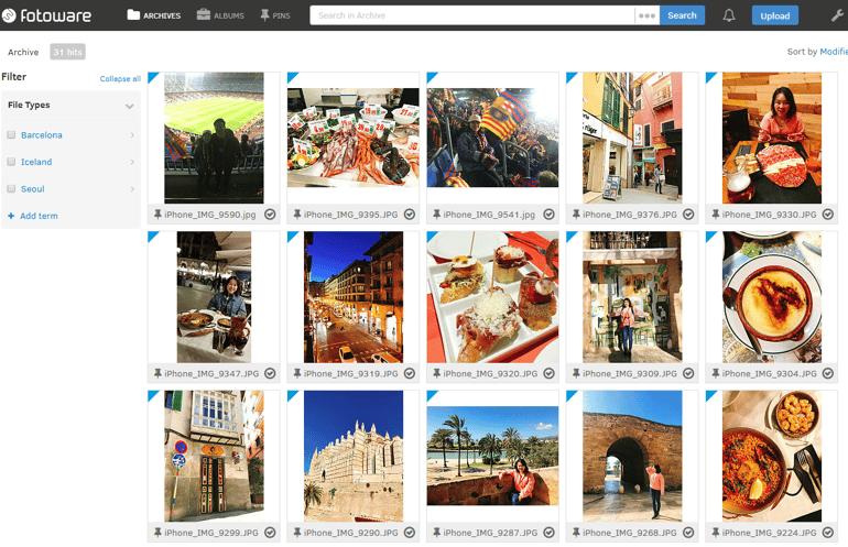 FotoWare Digital Asset Management Solution usage sample