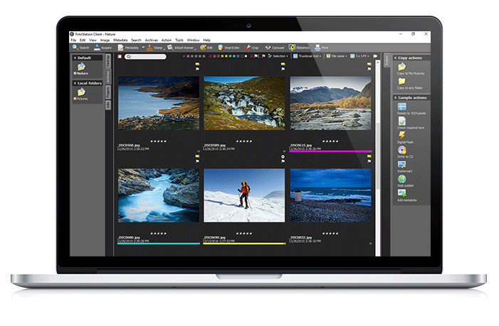 FotoStation Client - The Workstation for Your Mac and Windows