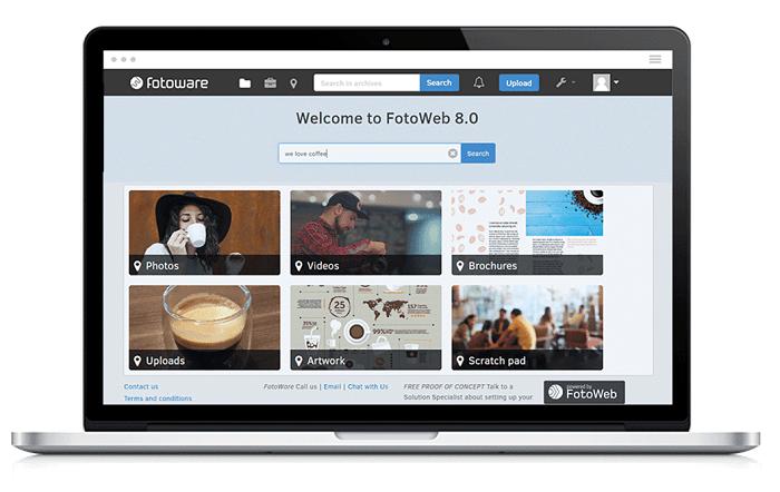 FotoWare's Digital Evidence Management System