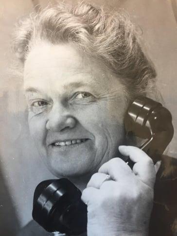 Ingeborg Markussen - first female plumber in Norway