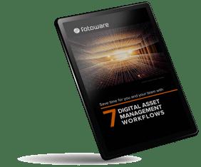 7 Digital Asset Management workflows by FotoWare