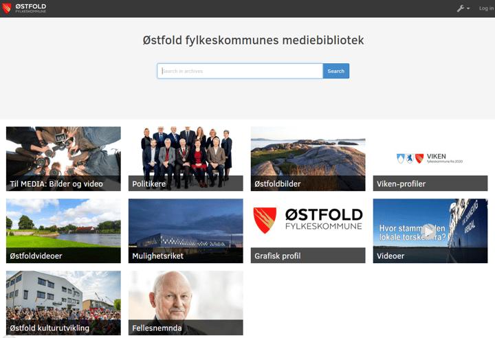Østfold Fylkeskommune Digital Asset Management