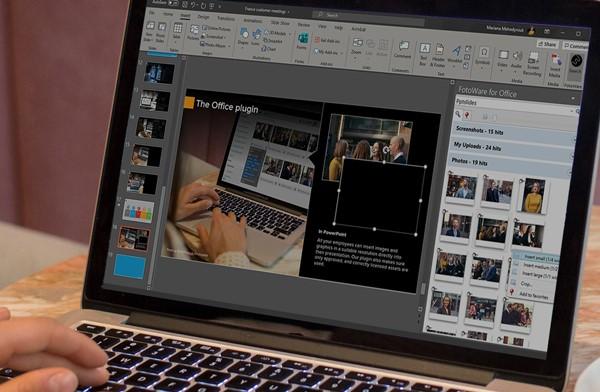 FotoWare's PowerPoint Plugin