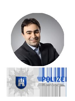 Turgay Guel, Polizei Hamburg