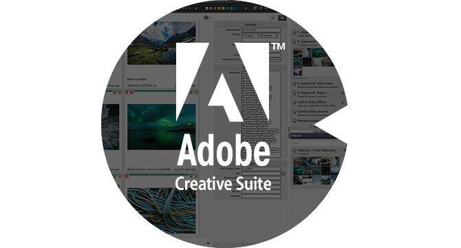 FotoWeb inside Adobe Creative Suite