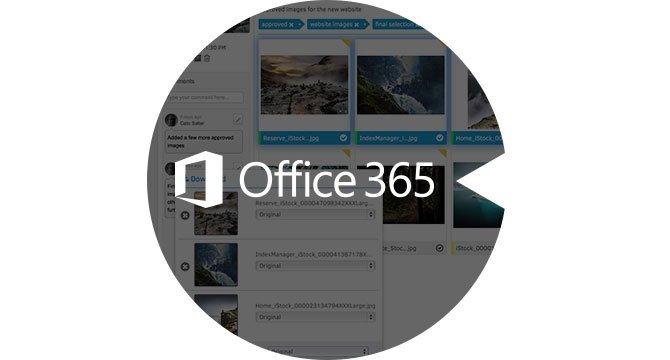 FotoWeb inside Microsoft Office