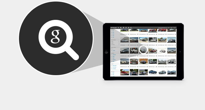 Let Google find your assets