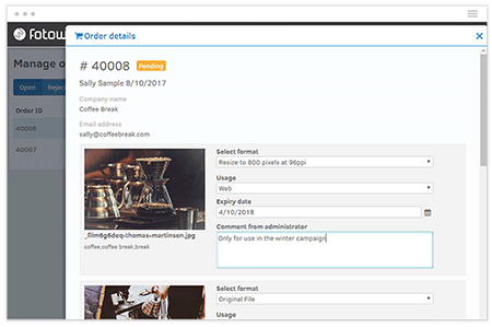 Order and Approve Assets in One Tool