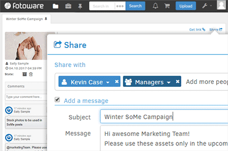 Sharing Files is Simple & Intuitive