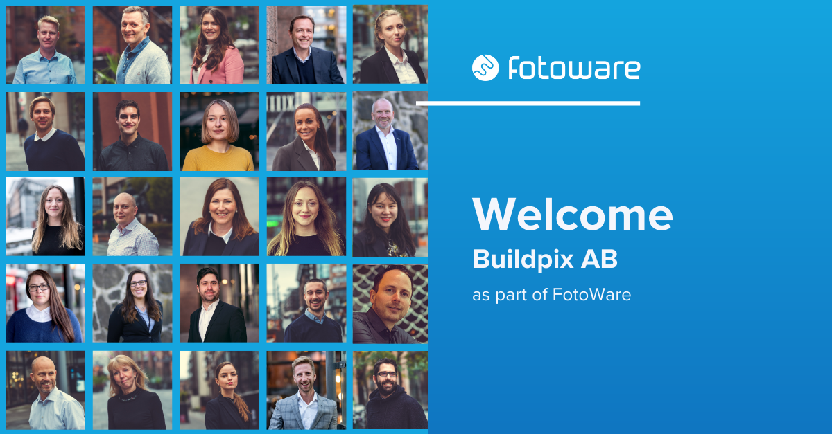 FotoWare acquires Buildpix AB and strengthens its position in the Nordics